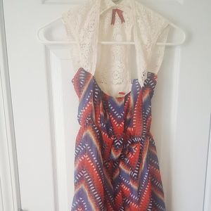 Colorful mini dresss